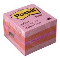 Фото Миникуб 3M Post-it 2051-P Розовый 51*51мм 400л [7000033866]. Интернет-магазин Vseinet.ru Пенза