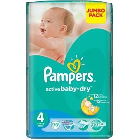 Подгузники PAMPERS Active Baby Maxi, 7-14 кг, 70 шт. [pa-81446645]