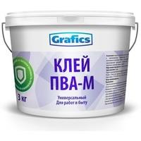 """Клей ПВА универсальный """"Grafics"""" 1кг.. Интернет-магазин Vseinet.ru Пенза"""
