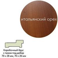 Коробка ламинир.квадр.с пазом 70*26*2070 ит.орех г.Пенза. Интернет-магазин Vseinet.ru Пенза
