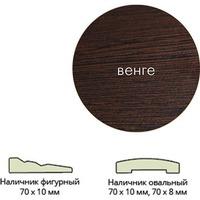 Наличник ламинир. (70*10*2150) венге овальный г.Пенза. Интернет-магазин Vseinet.ru Пенза