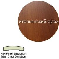 Наличник ПВХ (70*10*2150) ит.орех овальный г.Пенза. Интернет-магазин Vseinet.ru Пенза