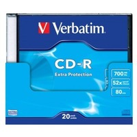 Диск CD-R Verbatim 700Mb 52x DataLife Slim (20шт) 43348. Интернет-магазин Vseinet.ru Пенза
