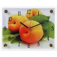 """Часы настенные прямоугольные """"Персики"""", 20х26 см 1072453. Интернет-магазин Vseinet.ru Пенза"""