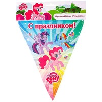 "Гирлянда-флаги ""My Little Pony"" 300 см G-MLP-FL-01   1039047. Интернет-магазин Vseinet.ru Пенза"