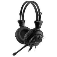 Гарнитура A4Tech HS-28 черная. Интернет-магазин Vseinet.ru Пенза