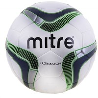 "Мяч футб.""MITRE Ultimatch""арт.BB8015WNB,р.5,глянц.ПУ,32 п,лат.кам,руч. сш,бело-т.син-сал-чер 765052. Интернет-магазин Vseinet.ru Пенза"
