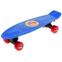 Скейтборд M-250, размер 42x12 см, колеса PVC d= 50 мм МИКС 134274. Интернет-магазин Vseinet.ru Пенза