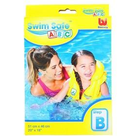 Жилет надувной Swim Safe, ступень B, 51 x 46 см (32034) 499317