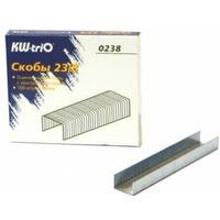 Скобы для степлера KW-TRIO 0238, 23/8, 1000шт, картонная коробка. Интернет-магазин Vseinet.ru Пенза