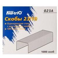 Скобы для степлера KW-TRIO 023A, 23/10, 1000шт, картонная коробка. Интернет-магазин Vseinet.ru Пенза