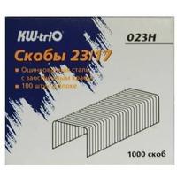 Скобы для степлера KW-TRIO 023H, 23/17, 1000шт, картонная коробка. Интернет-магазин Vseinet.ru Пенза
