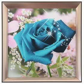картина пластик искренность 31*31 см роза 929008
