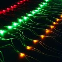 """Сетка"" Ш:1 м, В:0,7 м, нить силикон, LED-96-220V, контр. 8 р, МУЛЬТИ 703314. Интернет-магазин Vseinet.ru Пенза"