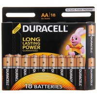 батарейка алкалиновая Duracell AA набор 18 шт на блистере LR6-18BL BASIC NEW    822176. Интернет-магазин Vseinet.ru Пенза