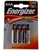 батарейка алкалиновая Energizer Base ААА набор 4шт на блистере LR-03 4BL   190603. Интернет-магазин Vseinet.ru Пенза