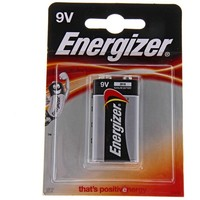 батарейка алкалиновая Energizer Base 9V Крона 6LR61/522 1шт   190606, Energizer. Интернет-магазин Vseinet.ru Пенза