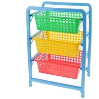 Этажерка для игрушек 3-х секц. 450х310х640 М1273   541476. Интернет-магазин Vseinet.ru Пенза