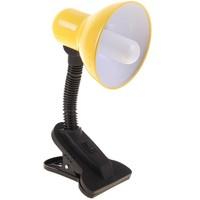 Лампа настольная Е27, с выкл. на зажиме (220В) желтая (108В) 739283. Интернет-магазин Vseinet.ru Пенза