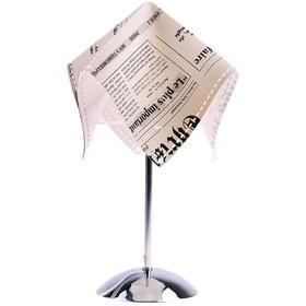 """Лампа настольная """"Лондонская газета"""" h=33 см (220В/Е14)  737110"""