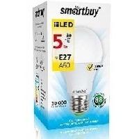 Светодиодная (LED) лампа Smartbuy E27 / A60 / 5Вт/ теплый A60-05W/3000/E27. Интернет-магазин Vseinet.ru Пенза