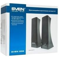 Активная акустика Sven 235 / 2.0 / 100 - 20000 Гц / чёрный. Интернет-магазин Vseinet.ru Пенза
