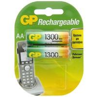 аккумуляторная батарея GP АА набор 2 шт GP130AAHC-BL2 1300mah 658941. Интернет-магазин Vseinet.ru Пенза