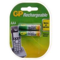 Аккумулятор AAA GP 65AAAHC, Ni-MH, 650 mAh, 1.2 V (в упаковке 2 шт., цена за 1 шт.). Интернет-магазин Vseinet.ru Пенза