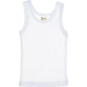 Майка для мальчика рост 110-116, цвет белый AZ-734    862256