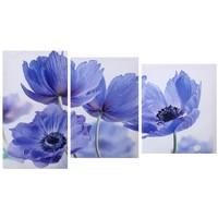 Модульный холст Цветы 55*94 см   1066598