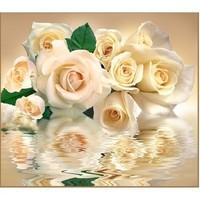 "Фотообои VIP 12л. ""Белые розы"" 294*260. Интернет-магазин Vseinet.ru Пенза"