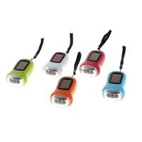 фонарик 3 диода зарядка от солнца/ ручная зарядка 9*5см 668233. Интернет-магазин Vseinet.ru Пенза