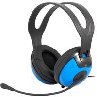 Гарнитура Ritmix RH-945M черная с синим. Интернет-магазин Vseinet.ru Пенза