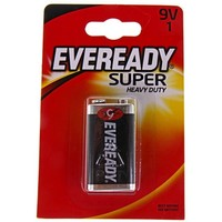 батарейка солевая Energizer Eveready Super Heavy Duty 9V 1шт   190618, Energizer. Интернет-магазин Vseinet.ru Пенза