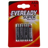 батарейка солевая Energizer Eveready Super Heavy Duty ААА набор 4 шт R03   190619, Energizer. Интернет-магазин Vseinet.ru Пенза