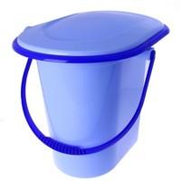 Ведро-туалет 17л. Голубой М1320 696451, Альтернатива. Интернет-магазин Vseinet.ru Пенза