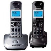 Фото Радиотелефон Panasonic KX-TG2512RU1 / 2 трубки / серый. Интернет-магазин Vseinet.ru Пенза