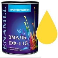 "Эмаль ""Простокрашено!"" желтая БАУ 1,9кг. Интернет-магазин Vseinet.ru Пенза"