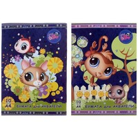 папка д/акварели А4 10л Littlest Pet Shop микс 693867, Littlest Pet Shop. Интернет-магазин Vseinet.ru Пенза